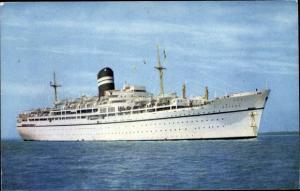 Ak Steamer Nevasa, Dampfschiff, British India Steam Navigation Company