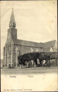 Ak Souday Loir et Cher, L'Eglise