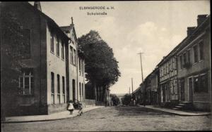 Ak Elbingerode Oberharz am Brocken, Schulstraße