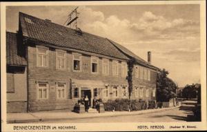 Ak Benneckenstein Oberharz, Hotel Herzog