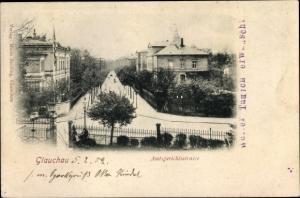 Ak Glauchau in Sachsen, Amtsgerichtsstraße