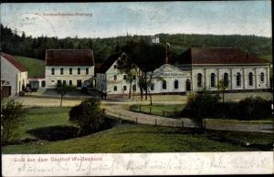Ak Weißenborn Zwickau in Sachsen, Gasthof Weißenborn