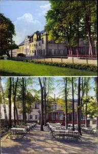 Ak Waldenburg in Sachsen, Gasthaus Grünfeld