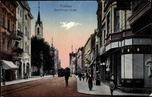 Ak Cottbus in der Niederlausitz, Spremberger Straße