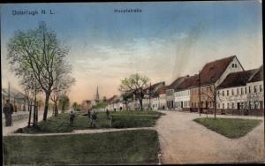 Ak Doberlug Kirchhain in Brandenburg, Hauptstraße