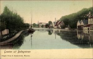 Ak Bodegraven Südholland, Wasserpartie