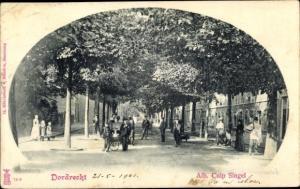 Ak Dordrecht Südholland Niederlande, Alb. Cuip Singel