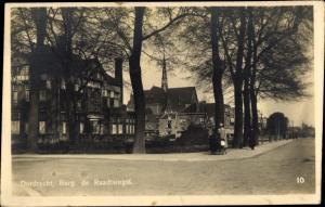 Ak Dordrecht Südholland Niederlande, Burg, de Raadtsingel