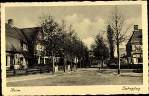 Ak Haren Groningen Niederlande, Terborgsteeg