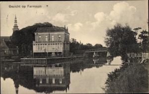 Ak Farmsum Groningen Niederlande, Wasserpartie