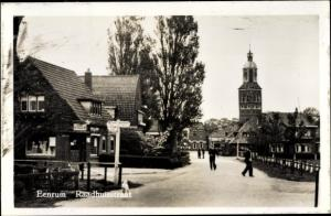 Ak Eenrum Groningen Niederlande, Raadhuisstraat
