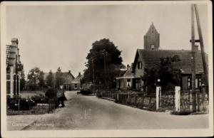 Ak Garnwerd Groningen Niederlande, Hunzeweg
