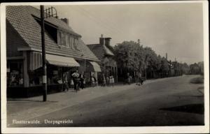 Ak Finsterwolde Groningen Niederlande, Dorpsgezicht
