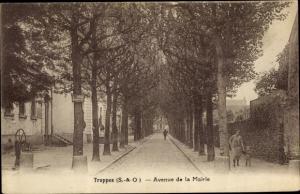 Ak Trappes Yvelines, Avenue de la Mairie