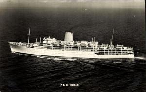Ak Steamer Iberia, Dampfschiff, P&O