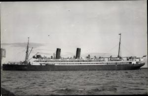 Foto Ak Steamer Niagara, Dampfschiff, Union Line