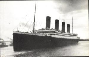 Ak Steamer Titanic, Dampfschiff, White Star Line