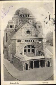 Ak Essen im Ruhrgebiet, Synagoge