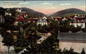 Ak Blankenburg am Harz, Villen mit Silberborn