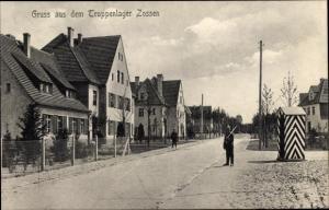 Ak Zossen in Brandenburg, Truppenlager