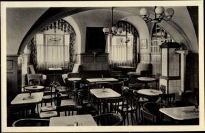 Ak Bautzen in der Oberlausitz, Konditorei u. Café Lehmann, Wendische Straße