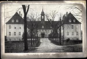 Ak Elsterwerda im Kreis Elbe Elster, Oberrealschule Elsterschloss