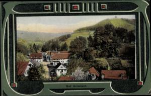Jugendstil Ak Bad Griesbach Schwarzwald, Gesamtansicht