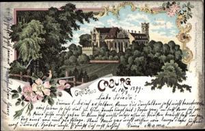 Litho Coburg in Oberfranken, Schloss Callenberg