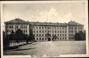 Ak Bad Hersfeld Hessen, Kriegsschule