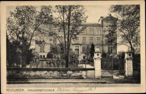 Ak Reutlingen in Württemberg, Frauenarbeitschule