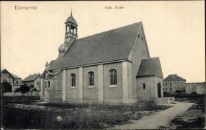 Ak Elsterwerda im Kreis Elbe Elster, Kath. Kirche