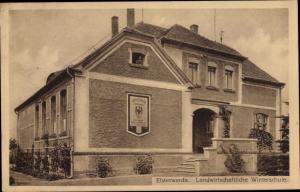 Ak Elsterwerda im Kreis Elbe Elster, Landwirtschaftliche Winterschule