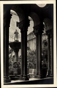 Ak Ragusa Dubrovnik Kroatien, Franziskanerkloster Innenansicht