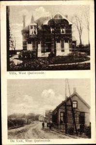 Ak IJsselmonde Rotterdam Südholland Niederlande, Villa West Ijselmonde, De Valk