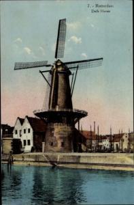 Ak Rotterdam Südholland Niederlande, Delfs Haven