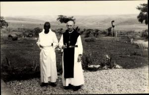 Foto Ak DR Kongo Zaire, Geistliche