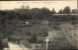 Ak Sancerre Cher, Le Casse Cou, le Chateau et la Terrasse