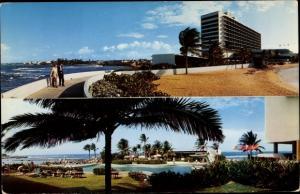 Ak San Juan Puerto Rico, Caribe Hilton, Außenansicht