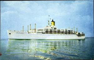 Ak Steamer Orcades, Dampfschiff, P&O