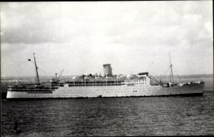 Ak Steamer Strathaird, Dampfschiff, P&O