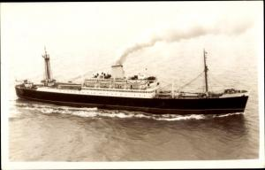 Foto Ak Steamer, Dampfschiff, Cunard Line