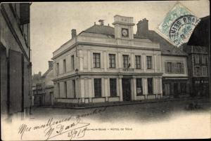 Ak Bray sur Seine Seine et Marne, Hotel de Ville