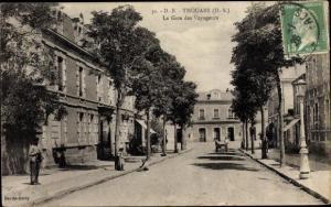 Ak Thouars Deux Sèvres, Sous bois a Volbine pres Saint Varent