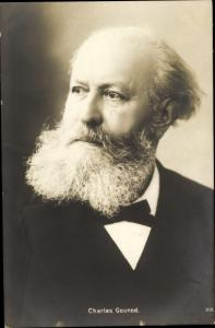 Ak Komponist Charles Gounod