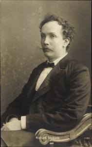 Ak Komponist Richard Strauss