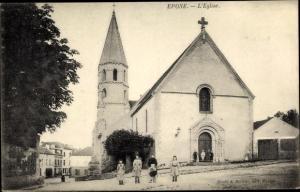 Ak Epone Yvelines, L'Eglise