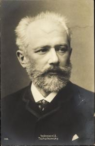 Ak Komponist Pjotr Iljitsch Tschaikowsky