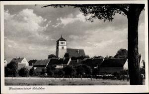 Ak Belgern Schildau Nordsachsen, Gneisenaustadt, Ortsansicht