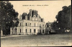 Ak Écuillé Maine et Loire, Chateau de la Roche