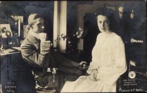 Ak Kronprinz Wilhelm von Preußen, Kronprinzessin Cecilie von Preußen, Liersch, NPG
